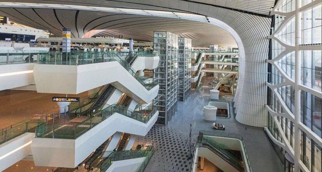 大兴国际机场盛装投运 哪些电梯助力凤凰展翅?