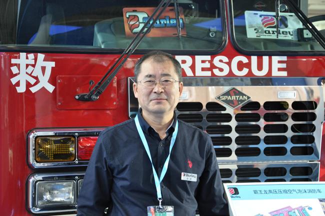 美国大力张波:未来中国消防车市场会赶超美国
