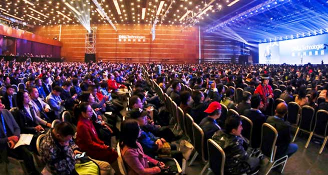 迈克尔•戴尔来京出席2019戴尔科技峰会