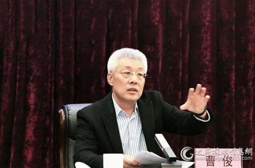 包头市财政局总会计师  曹俊