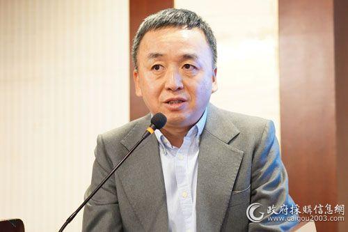 國際關系學院公共市場與政府采購所所長趙勇教授