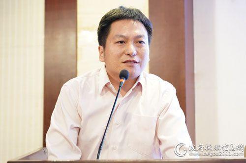 中國海洋石油總公司采辦信息經理林楠峰