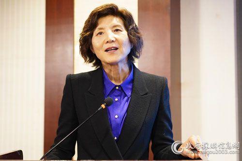 國際關系學院公共市場與政府采購研究所首席研究員劉慧教授