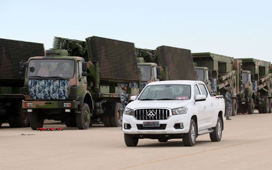 上汽大通获军方皮卡千台采购大单 T60竞标排名第一