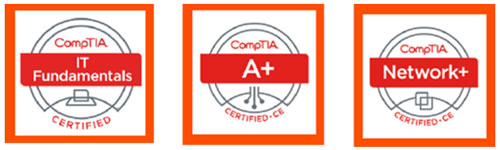 CompTIA认证电子徽章