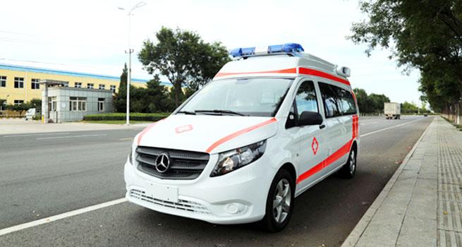 速度快 性能好 北铃牌救护车获评医疗服务用车首选车型