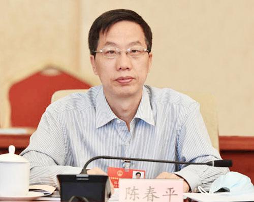 全国人大代表、宁夏回族自治区财政厅厅长陈春平