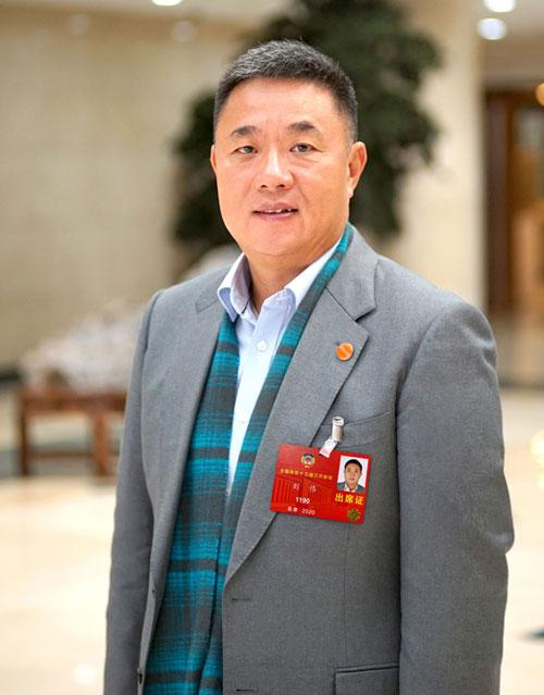 """""""最自私""""代表:佳都科技集团董事长刘伟"""