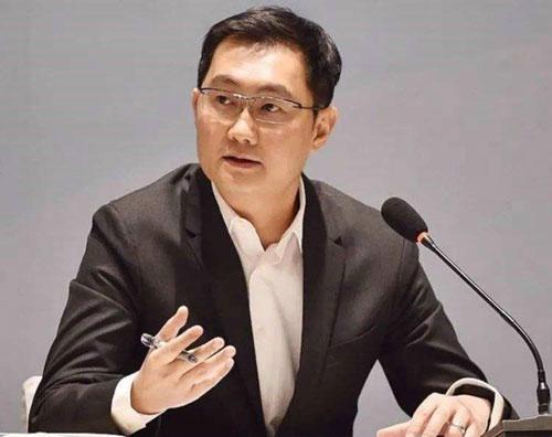 """""""最拼""""代表:腾讯CEO马化腾"""