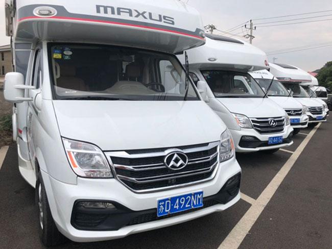 50台上汽MAXUS房车布点北京49处核酸检测点