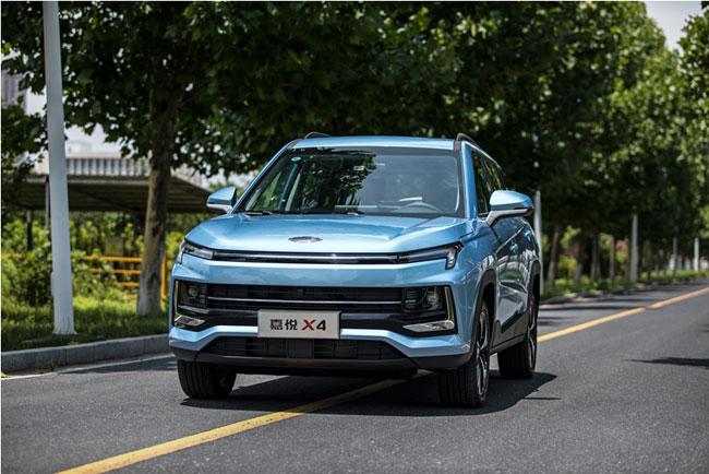 小型SUV性价比之王 嘉悦X4售价 6.28万元起