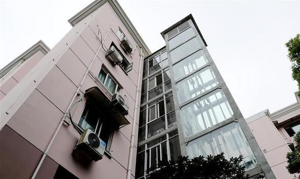 20次协调会后 老小区终于装上新电梯