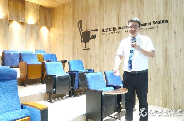佛山市丽江椅业有限公司副总经理刘恒科