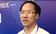 浙江省财政厅总会计师倪学军接受记者采访