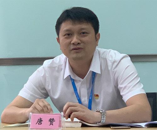 广西壮族自治区公共资源交易中心政府采购及出让处副处长 唐赞