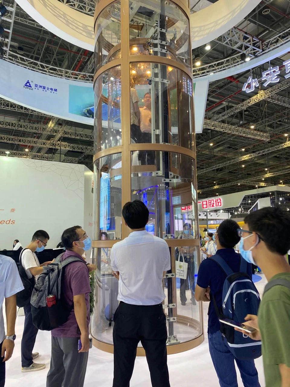 亚洲富士研发的模块式电梯产品.jpg