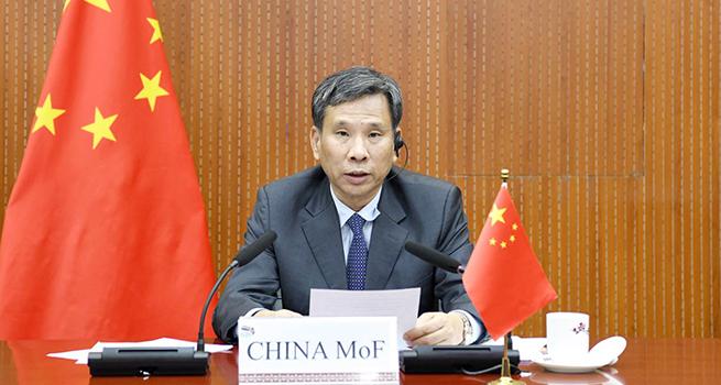 劉昆出席二十國集團財長和衛生部長聯合視頻會議