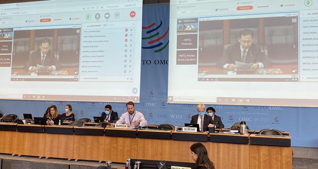 国库司参加世界贸易组织《政府采购协定》2020年第三轮多边谈判