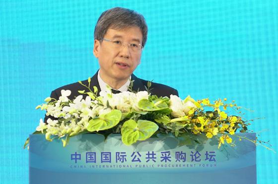 財政部副部長許宏才:共享公共采購市場的未來