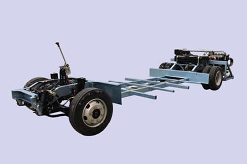 轿车和越野车底盘结构图
