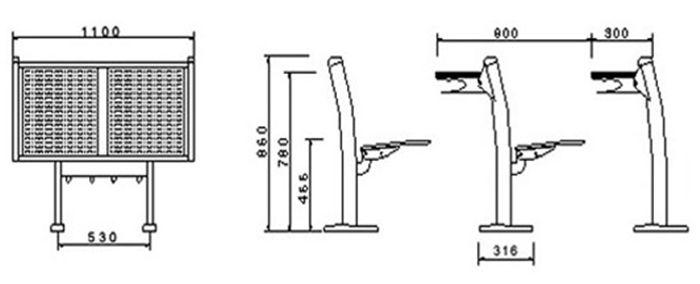 政府采购中心项目相图议课桌椅阶梯二次询t-x的绘制教室图片